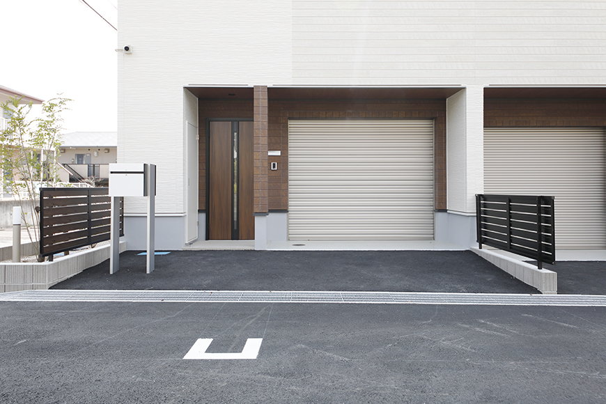 【Mon espace(モンエスパス)】A号室_外観_MG_9028