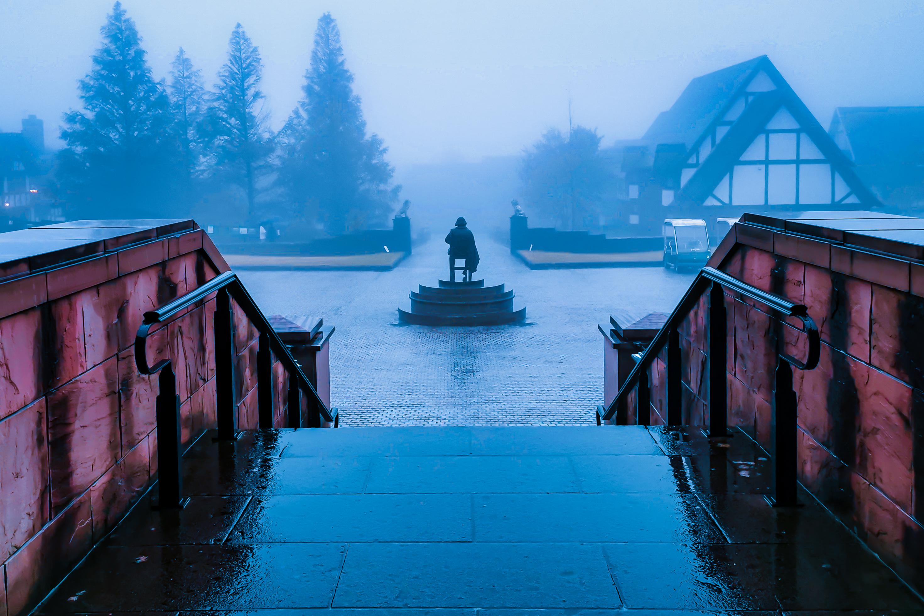 霧の天栄村