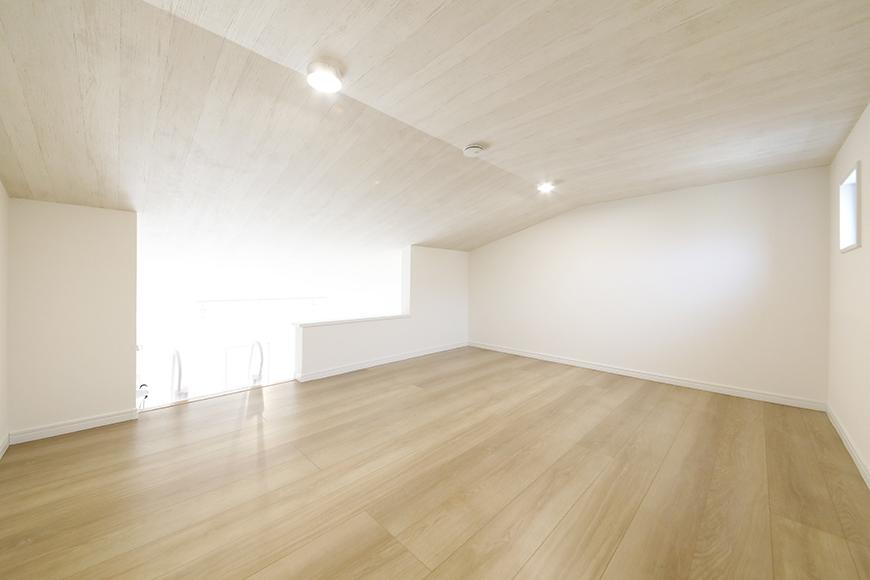 【Mon espace(モンエスパス)】A号室_2階_ロフト(5.8帖)_全景_MG_9688