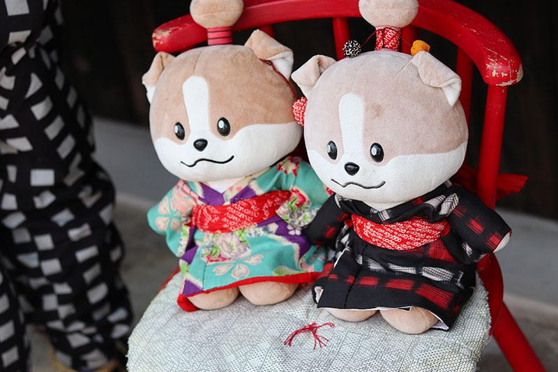 エスタシオン犬山 人形
