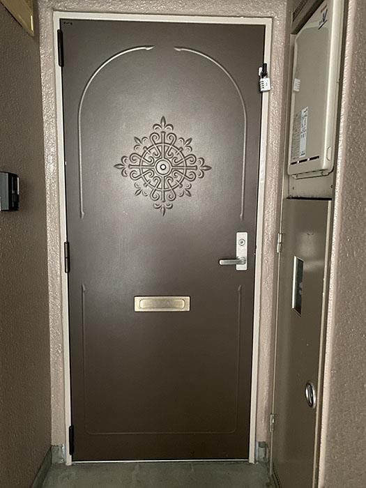 メゾン野菊 玄関ドア