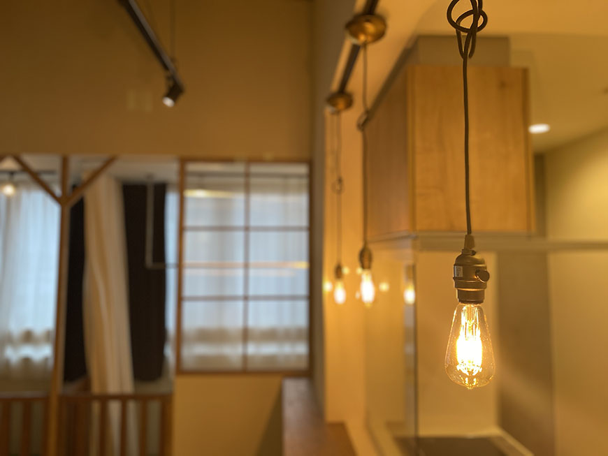 エスタシオン犬山304号室照明
