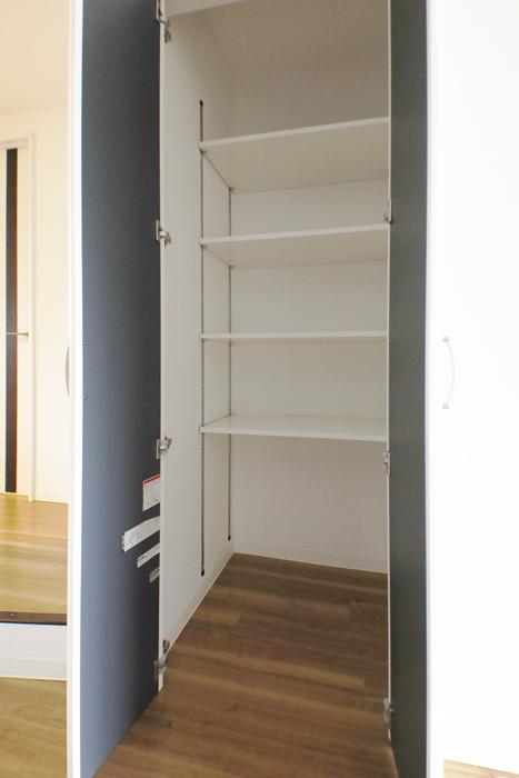 【泉ロイヤルビル】6B号室_LDK_キッチン近くの収納_MG_4083