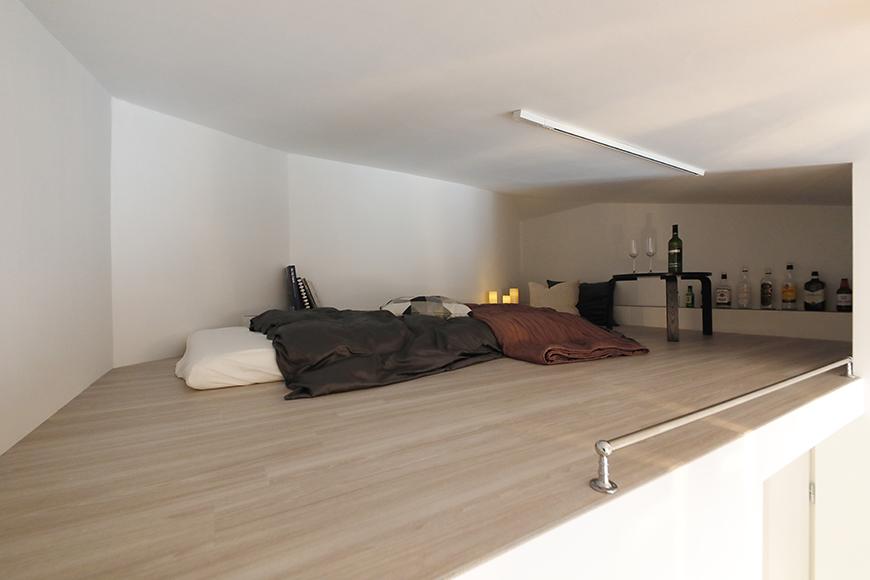 """スペースにはまだまだ余裕があります。自分だけの""""隠れ家BAR""""&ベッドスペースのコーディネートを楽しんでみてはいかがでしょうか?_MG_6727"""