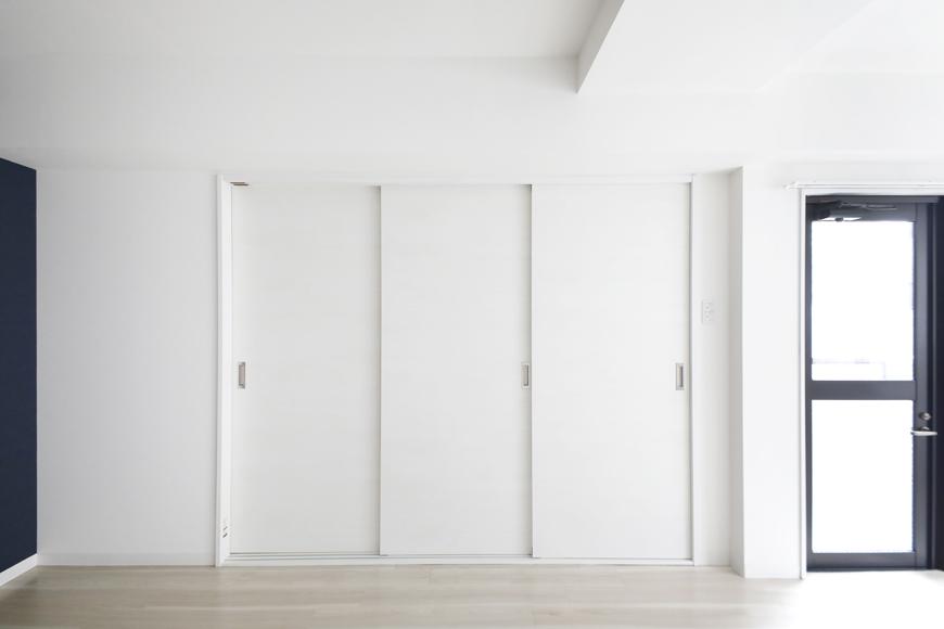 【泉ロイヤルビル】5C号室_LDK_仕切りのドアをCLOSE_MG_4714