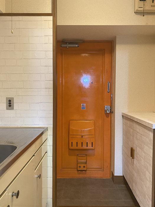ネオハイツ錦 403号室玄関