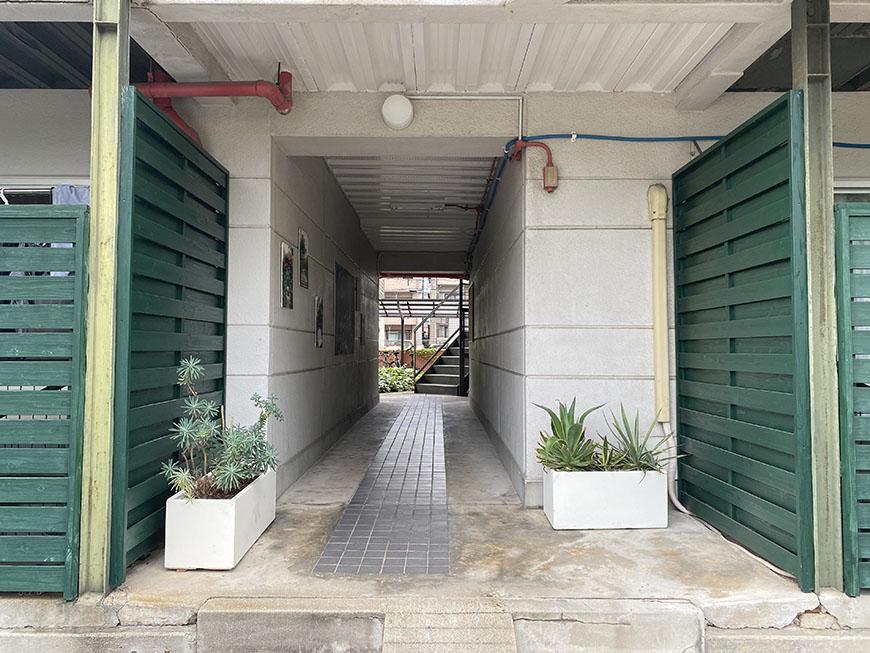 スタジオA1 入り口