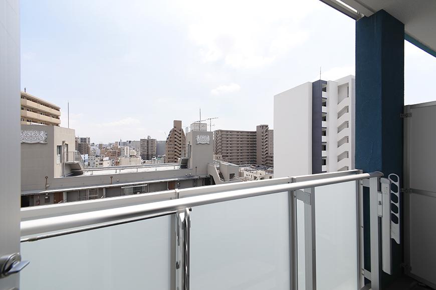 【ル・ブルー鶴舞】1003号室_ベランダからの眺望_MG_7810