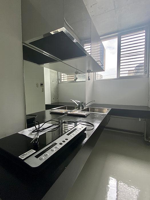 クレイタスパークI 201号室 キッチン