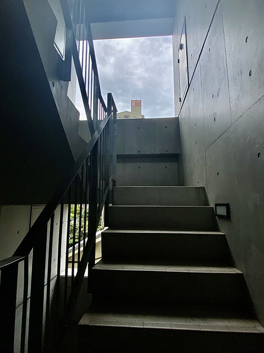 クレイタスパークI 階段