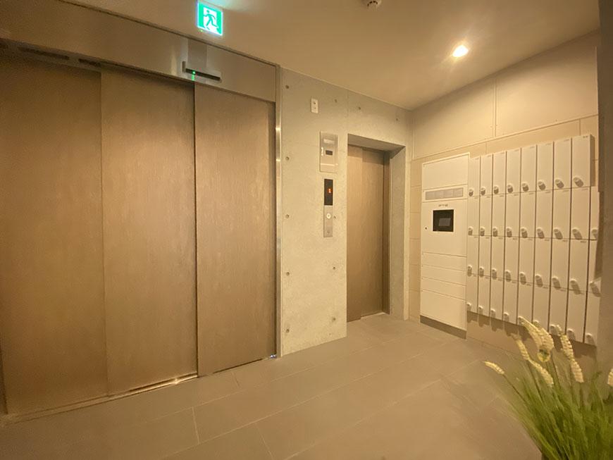 PULCHRA IMAIKE(プルクラ今池) エレベーター前