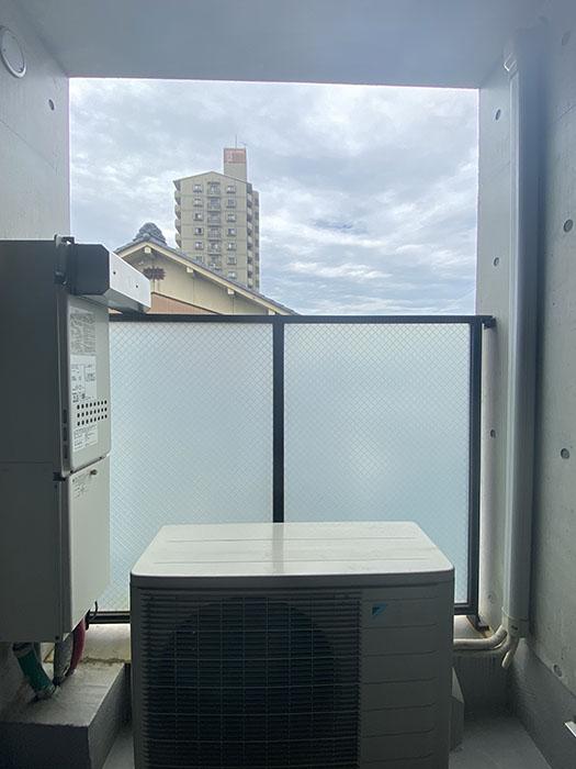 クレイタスパークI 201号室テラスからの眺め