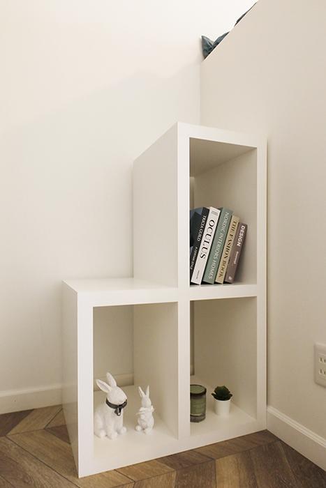 このボックス階段も、最小限必要&自分の好きなものだけを置く収納スペースとして活用できますね(^_^)_MG_6245