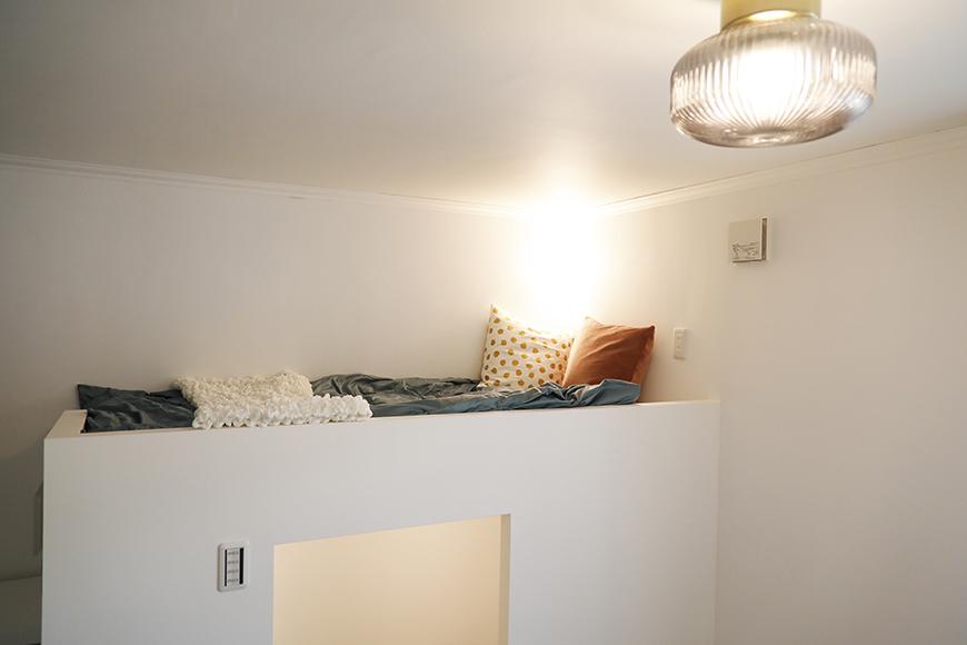 上部のベッドスペースです。_MG_6427