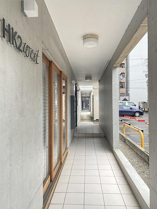 HK2 west 側廊下