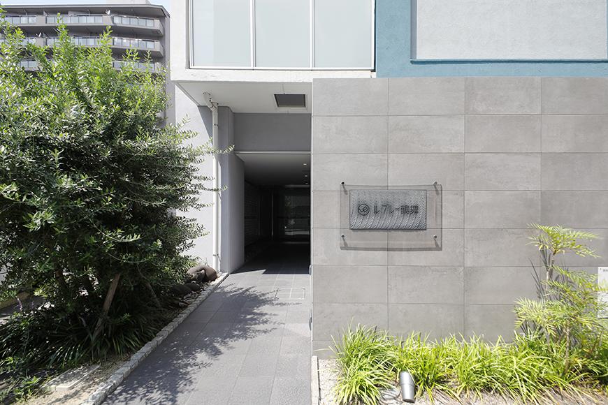 【ル・ブルー鶴舞】外観・共有_建物入り口、エントランスです_MG_7910