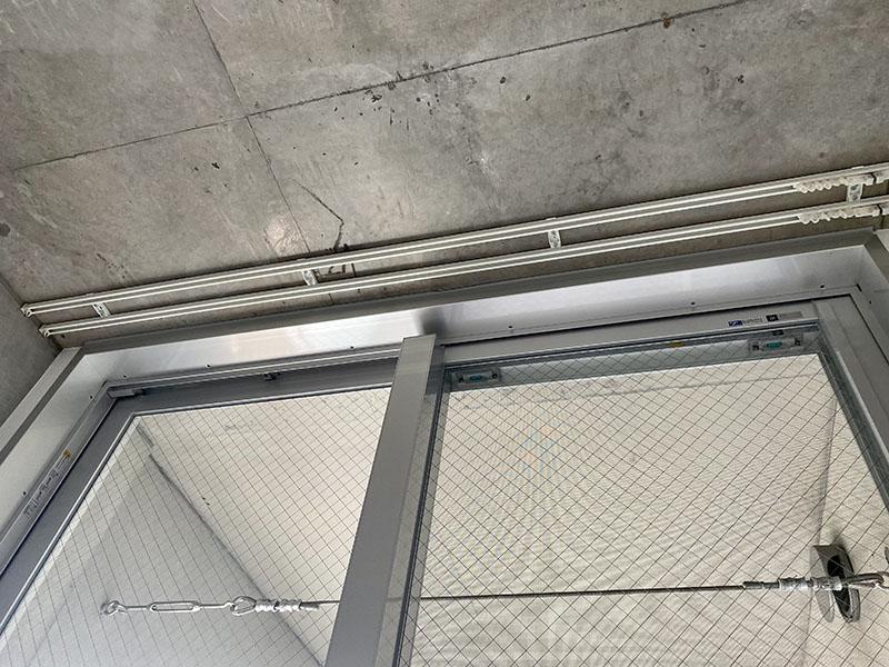 クレイタスパークI 201号室洋室カーテンレール