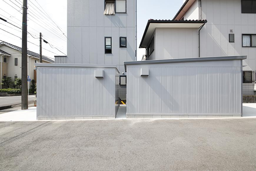 【ガレリア勝川】B号室・C号室_ガレージのサイズ比較_MG_8036