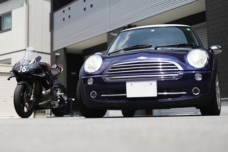 【ガレリア勝川】_ガレージ前のバイク・車_イメージ_MG_8845