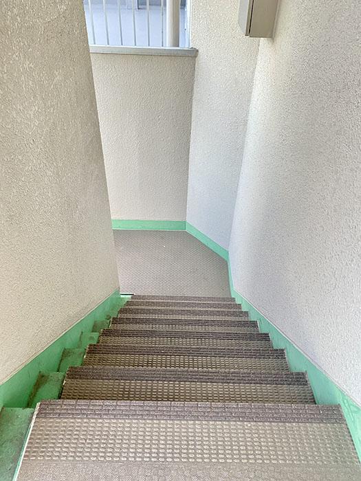 レジデンス安藤共用部 階段