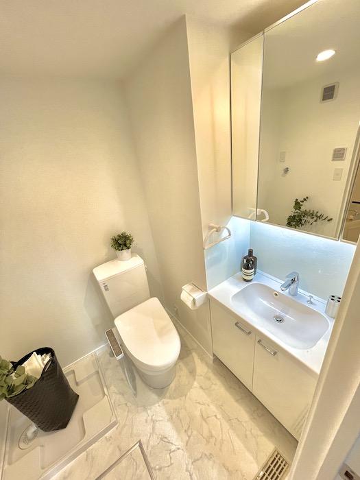 【プリマ河口湖フローレンス】は、お風呂、洗面、トイレが一体となったホテルライクなサニタリールームです。_IMG_4215