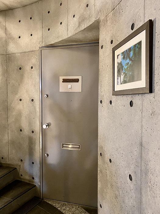 ARK HOUSE 南館C号室 玄関ドア
