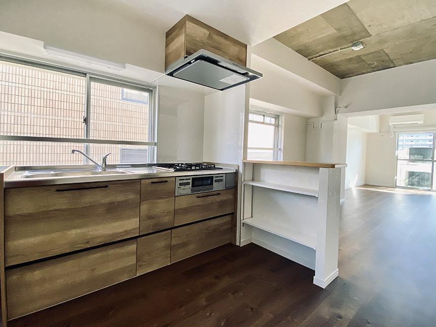 日映マンションⅠ 306号室 キッチン