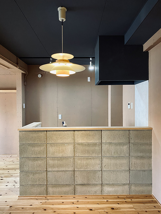 信和元町ハウス132号室 キッチン最初
