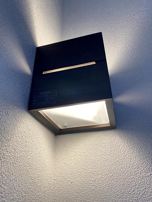 トヨヤマテラスE棟 階段照明