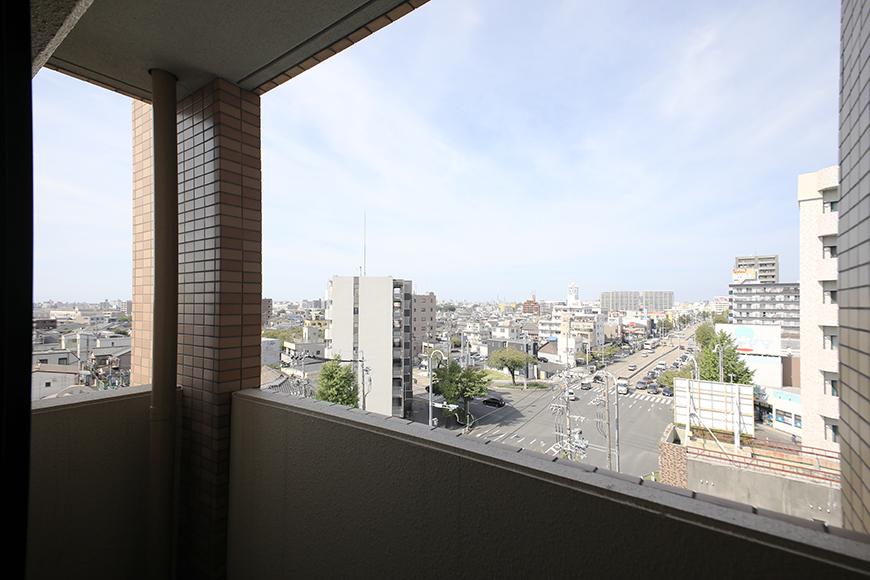 【ハーモニアス桜本町】701号室_洋室1_ベランダからの眺望_MG_2845